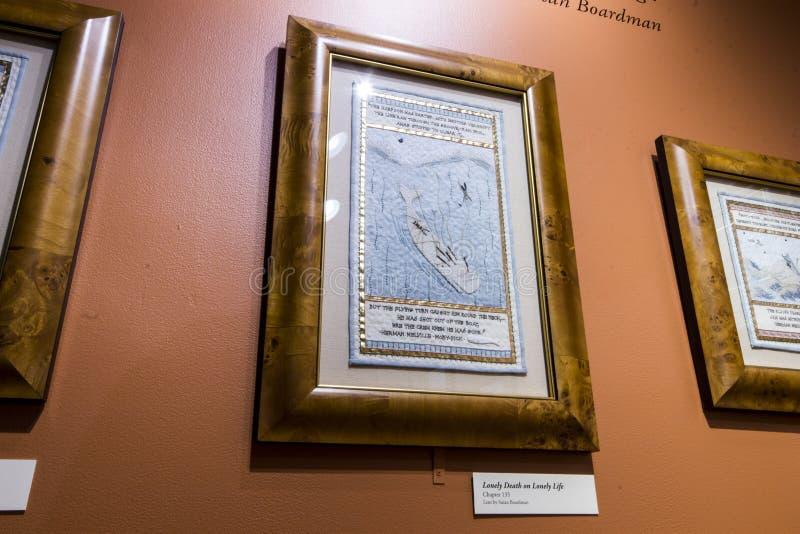 Museo de la caza de ballenas de Nantucket, Massachusetts foto de archivo