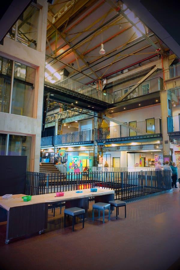 Museo de la central eléctrica de Brisbane imágenes de archivo libres de regalías