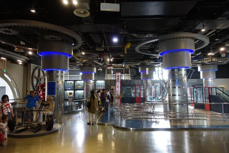 Museo de la ciencia y de la tecnología de Sichuan imagen de archivo