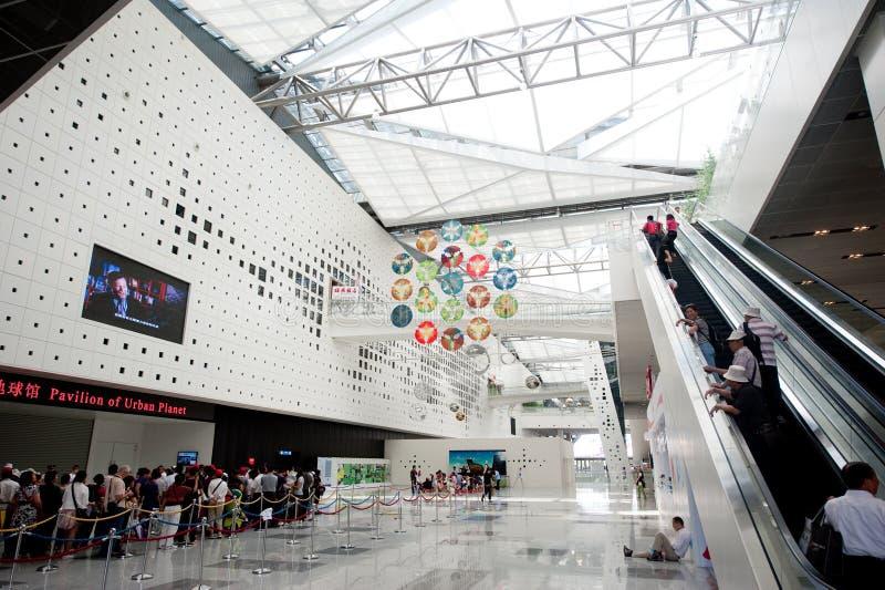 Museo 2010 de la ciudad de Shangai de la expo de China de la tierra imágenes de archivo libres de regalías
