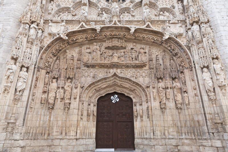 Museo de la escultura de la puerta en valladolid foto de archivo imagen de exterior edificio - Puertas en valladolid ...
