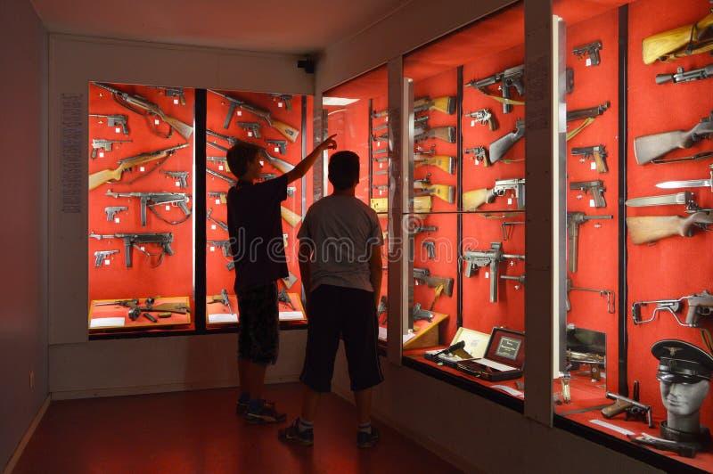 Museo de la guerra imágenes de archivo libres de regalías