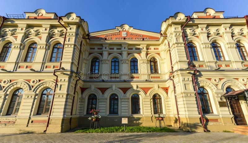 Museo de la historia de la ciudad de Irkutsk fotografía de archivo