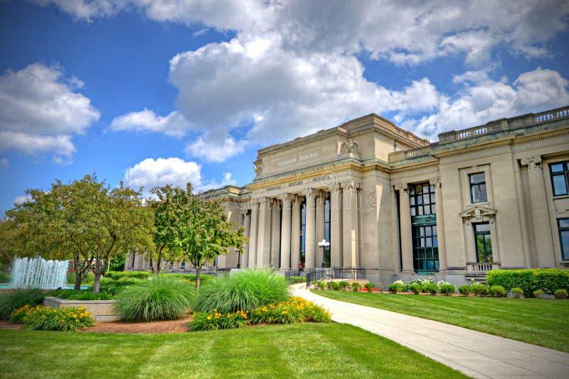 Museo de la historia de Missouri foto de archivo libre de regalías