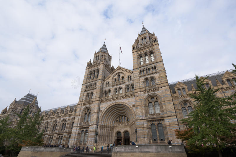 Museo de la historia natural, Londres fotos de archivo libres de regalías