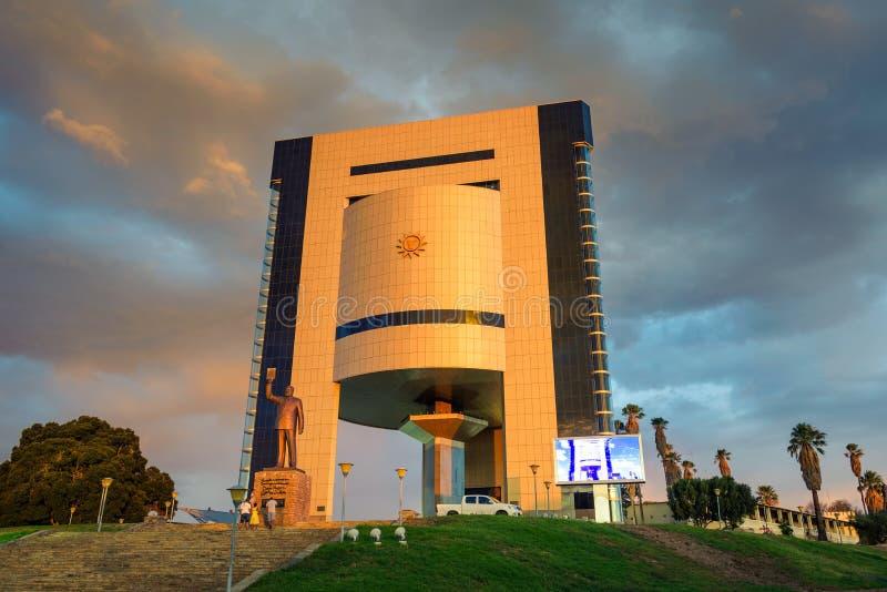 Museo de la independencia en Windhoek, Namibia, África fotografía de archivo libre de regalías