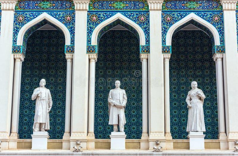 Museo de la literatura azerbaiyana imagenes de archivo