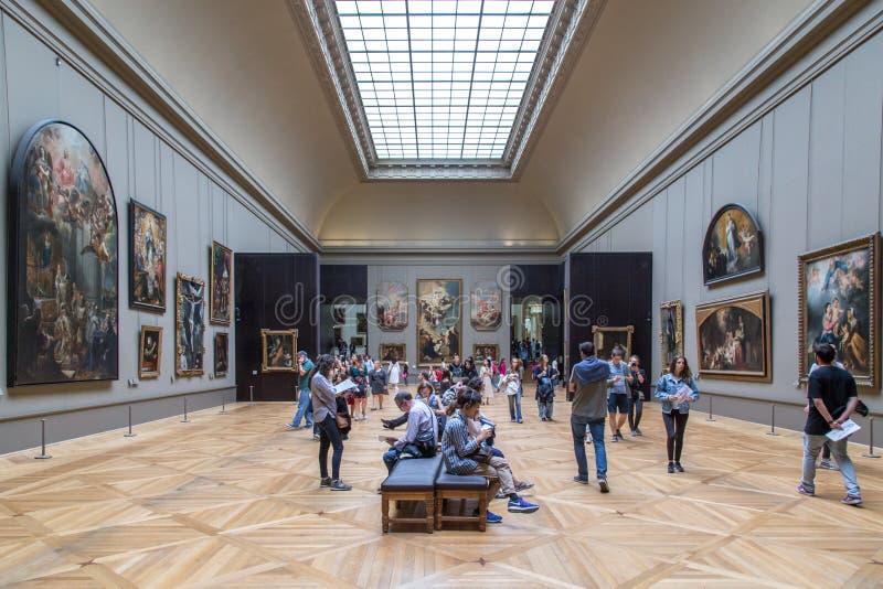 Museo de la lumbrera en París, Francia imagen de archivo libre de regalías