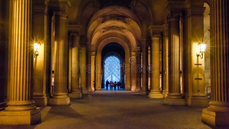 Museo de la lumbrera en París, Francia imágenes de archivo libres de regalías