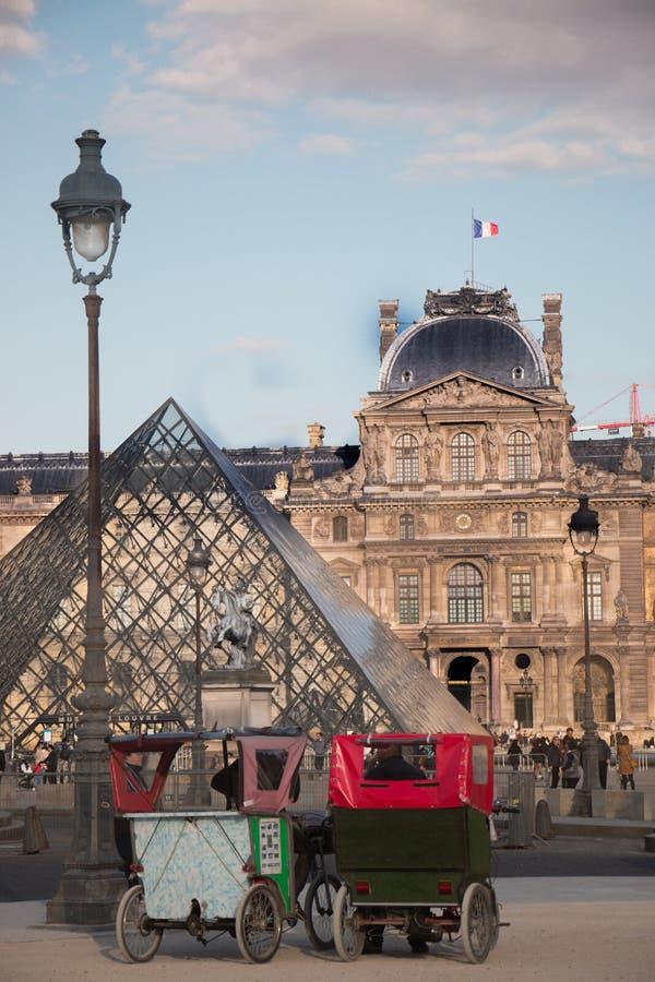 Museo de la lumbrera - París imagen de archivo libre de regalías