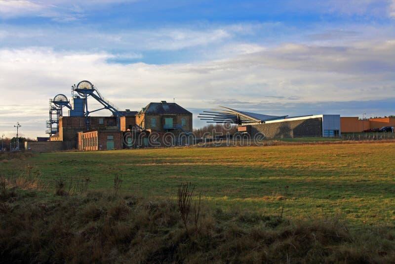 Museo de la mina de carbón de Woodhorn imagen de archivo