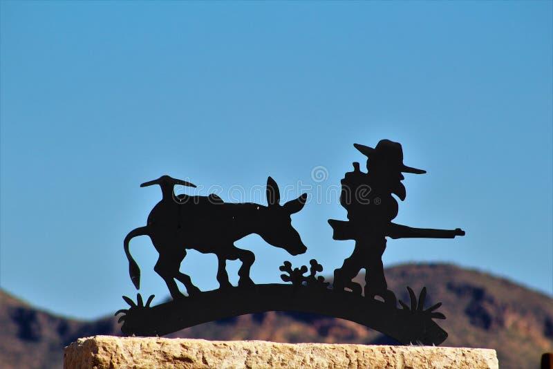 Museo de la montaña de la superstición imágenes de archivo libres de regalías