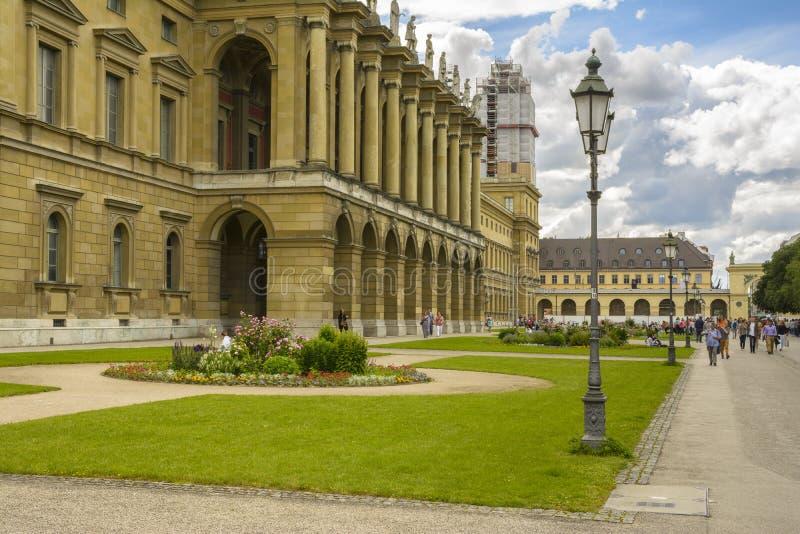 Museo de la residencia de Munich, Baviera, Alemania foto de archivo