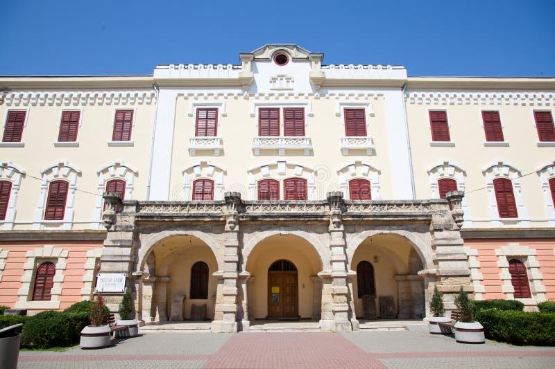 Museo de la unión en Iulia Alba fotografía de archivo