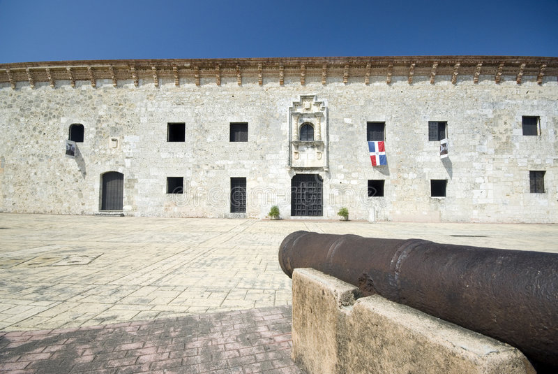 Museo DE las casas reales Santo Domingo stock fotografie