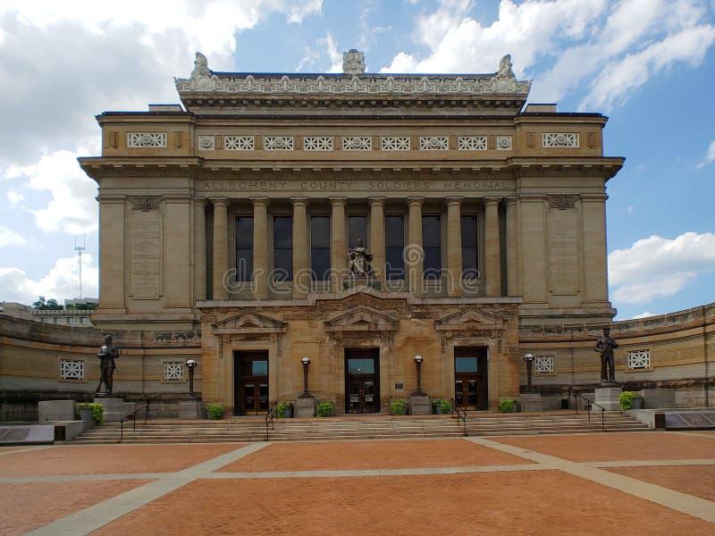 Museo de las soldaduras y de los marineros en la ciudad Pittsburgh fotos de archivo libres de regalías