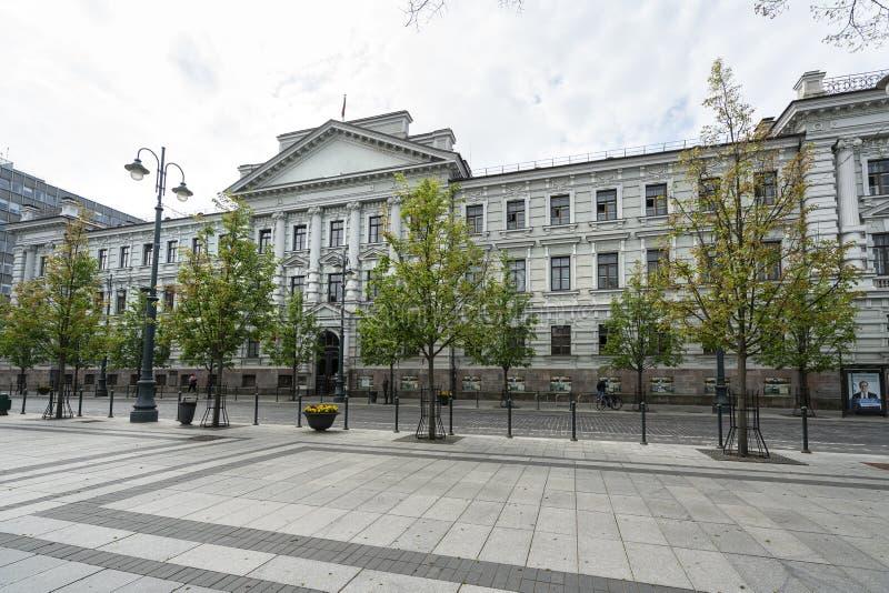 Museo de las víctimas del genocidio en Vilna fotos de archivo