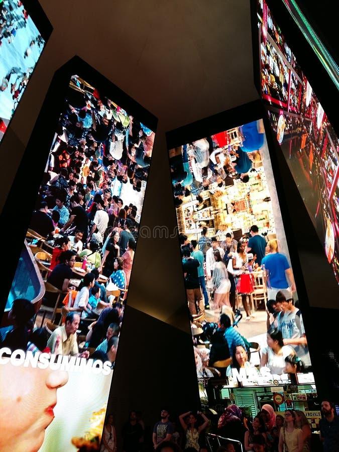 Museo de mañana fotografía de archivo