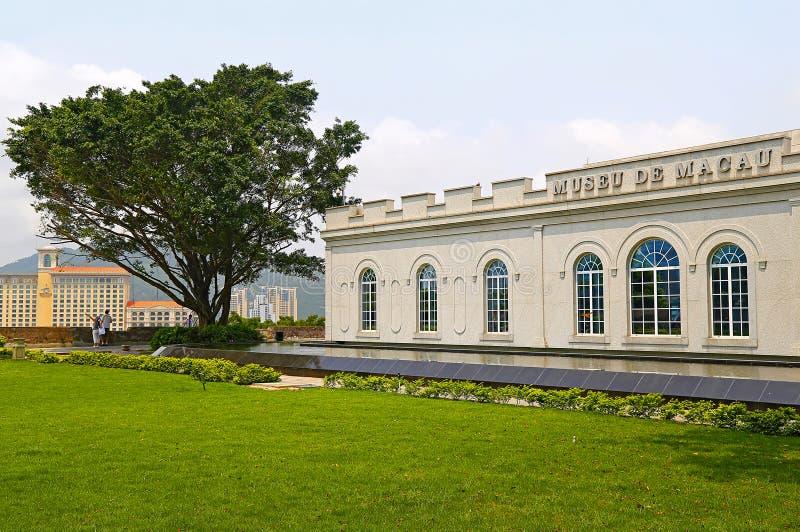 Museo de Macao imagen de archivo
