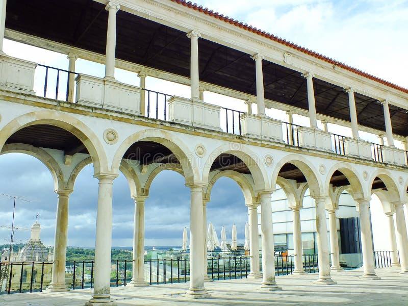 Museo de 'Machado de Castro', Coímbra imagen de archivo libre de regalías