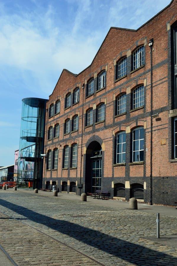Museo de Manchester de la ciencia y de la industria foto de archivo libre de regalías