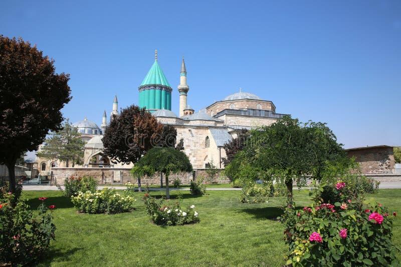 Museo de Mevlana en Konya Turqu?a fotos de archivo libres de regalías