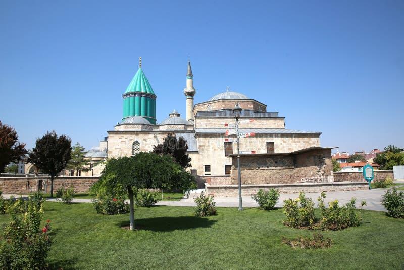 Museo de Mevlana en Konya Turqu?a foto de archivo