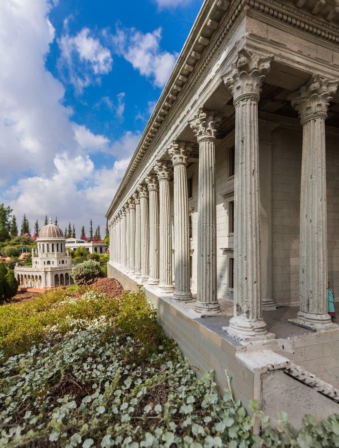 Museo de miniaturas de Israel fotografía de archivo