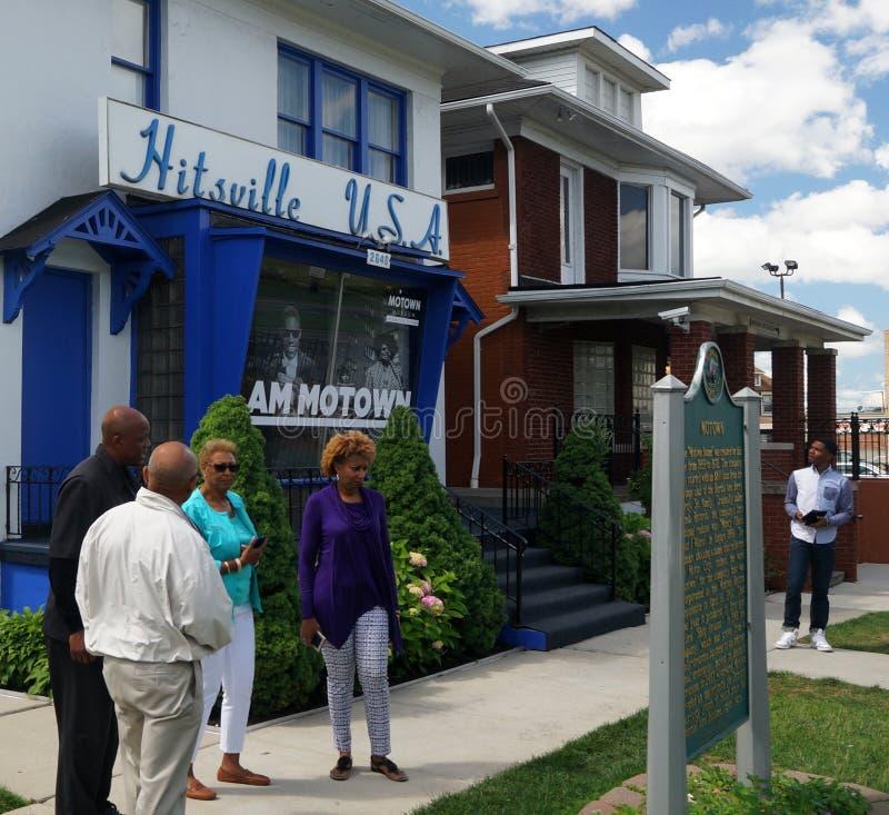 Museo de Motown imágenes de archivo libres de regalías
