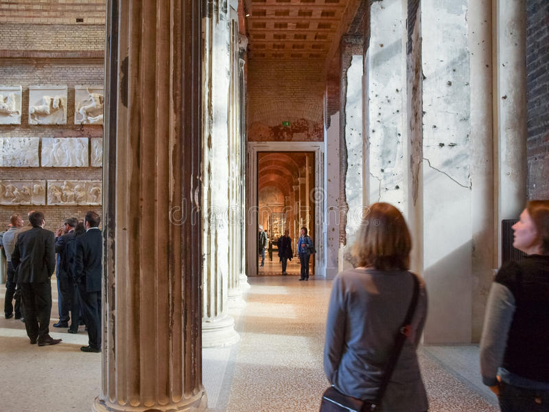 Museo de Neues en Berlín foto de archivo