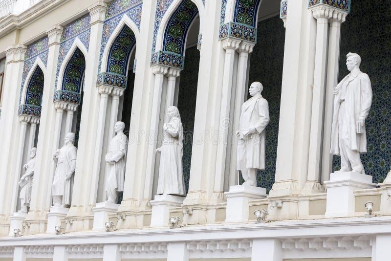 Museo de Nizami de la literatura azerbaiyana en Baku, Azerbaijan uno imagen de archivo