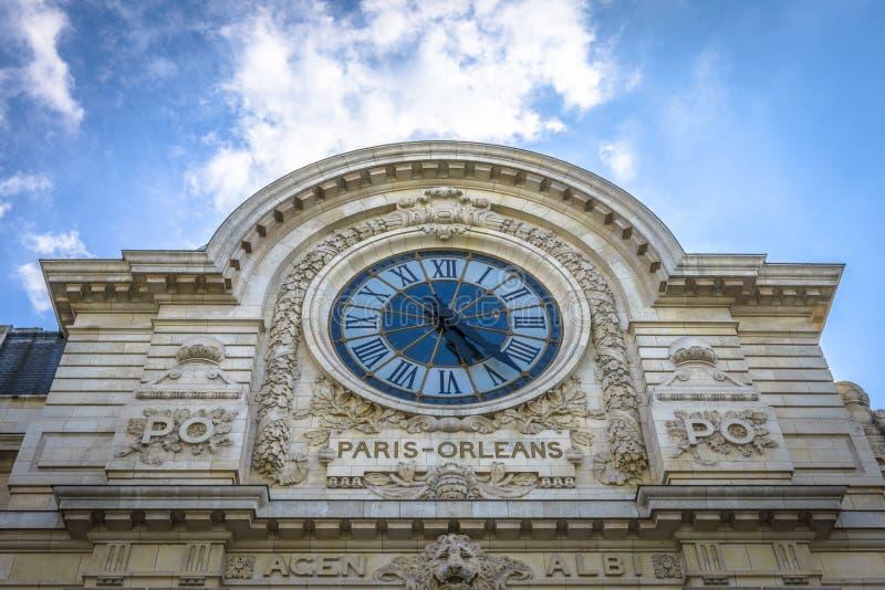 Museo de Orsay en París foto de archivo