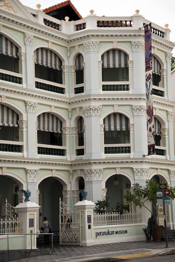 Museo de Peranakan, Singapur imagen de archivo libre de regalías