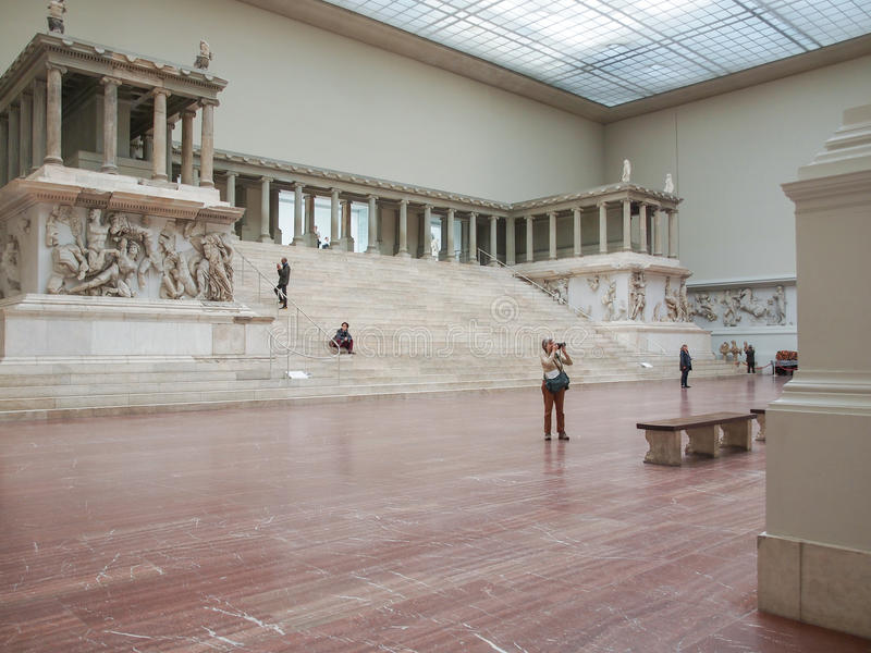 Museo de Pergamon en Berlín fotos de archivo libres de regalías