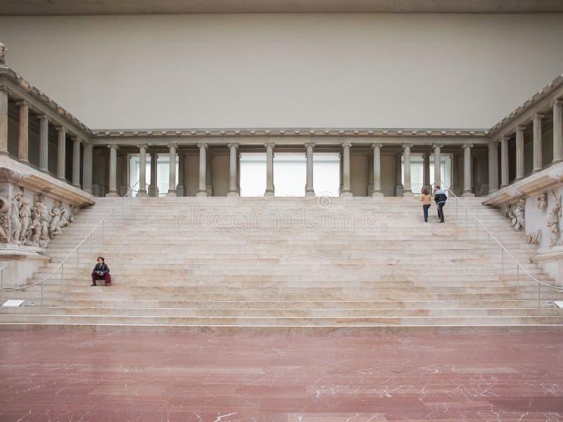 Museo de Pergamon en Berlín fotografía de archivo libre de regalías