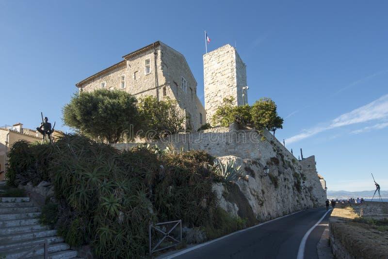 Museo de Picasso, Antibes, Francia imagenes de archivo
