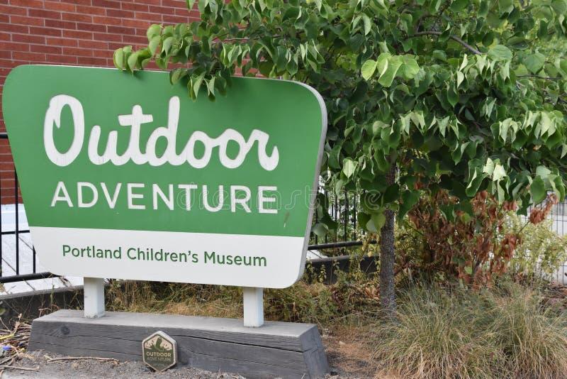 Museo de Portland Children's en Portland, Oregon fotos de archivo