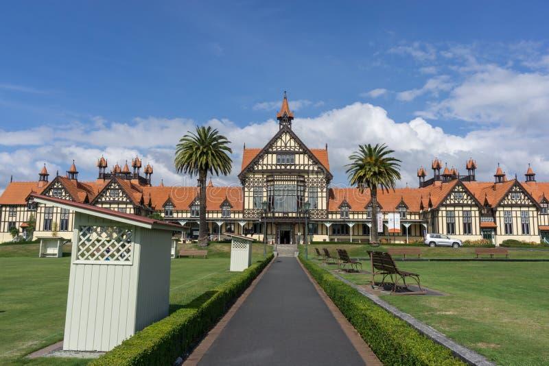 Museo de Rotorua fotografía de archivo