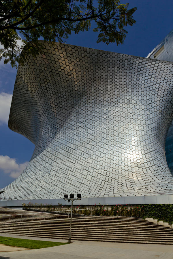 Museo de Soumaya en Ciudad de México fotos de archivo libres de regalías
