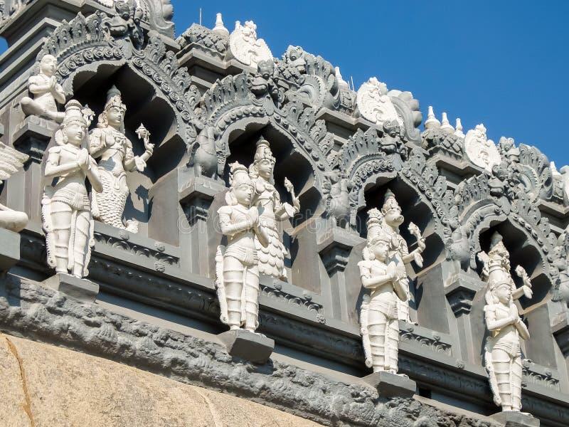 Museo de Sri Venkateswara del arte del templo en Tirupati, la India foto de archivo libre de regalías