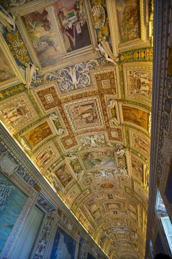 Museo de Vatican fotos de archivo libres de regalías