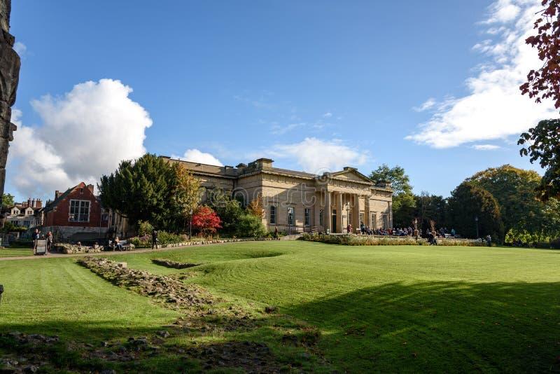 Museo de Yorkshire, York Inglaterra fotos de archivo