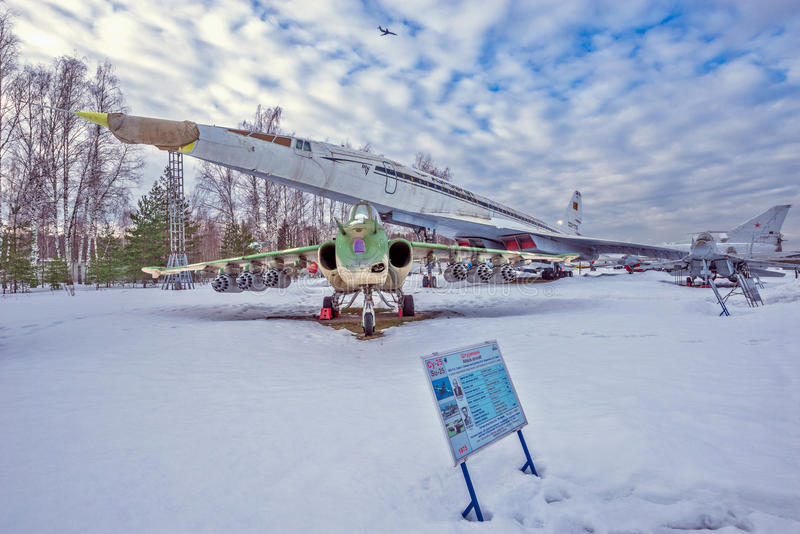 Museo degli aerei fotografia stock libera da diritti