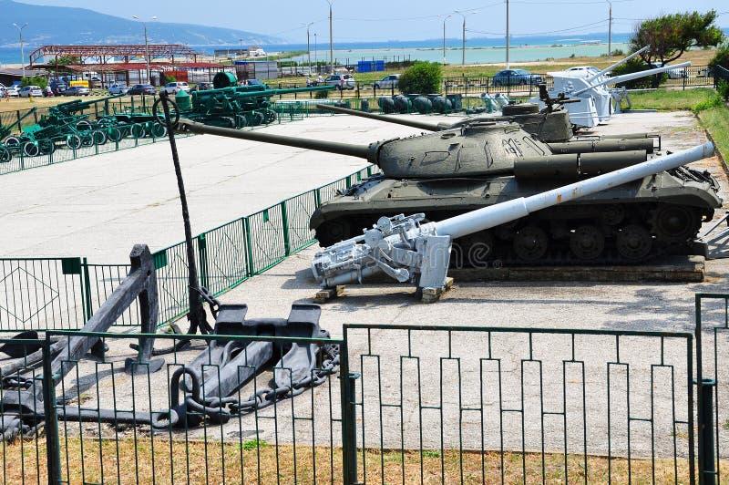 Museo dei carri armati fotografia stock