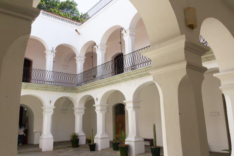 Museo dei pittori di Oaxacan fotografia stock