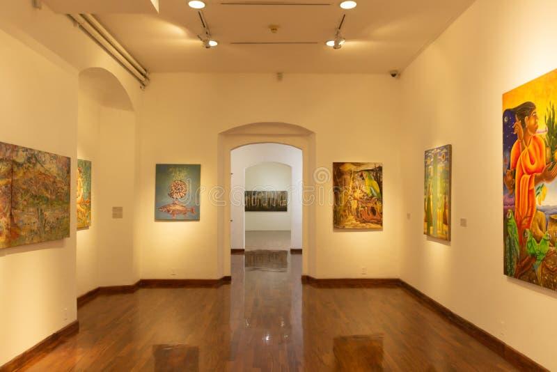 Museo dei pittori di Oaxacan immagine stock libera da diritti