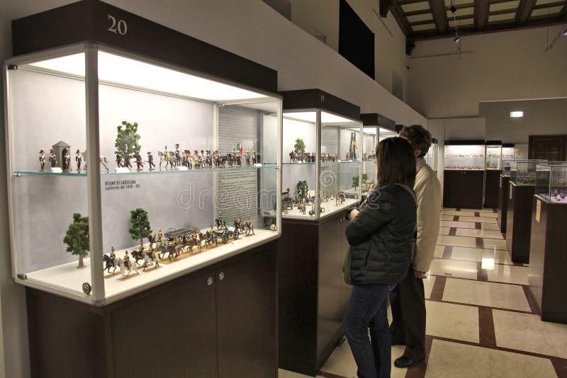 Museo dei soldatini fotografie stock libere da diritti