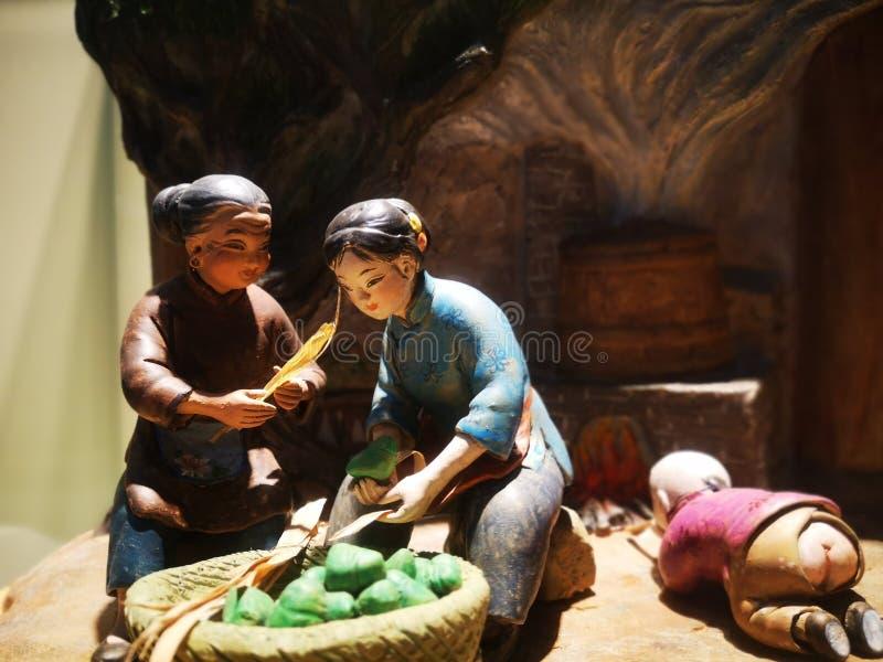 Museo del arroz-pudín del chino tradicional en Jiaxing imagen de archivo