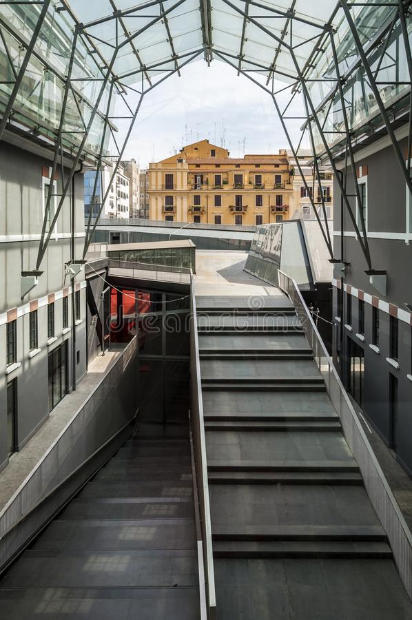Museo del arte contemporáneo de Roma imagen de archivo