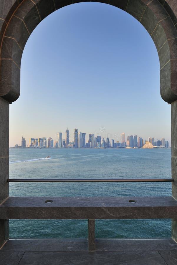 Museo del arte islámico, Doha, Qatar fotos de archivo libres de regalías